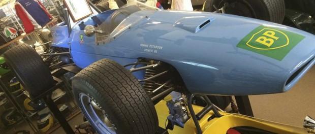 Ronnie Petersons första Swebe F3a som annars finns på Sparreholms Slott kommer att vara på plats